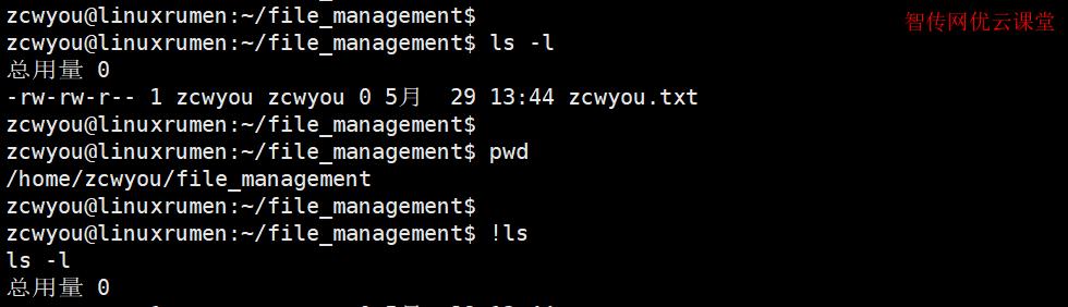 Linux感叹号的作用