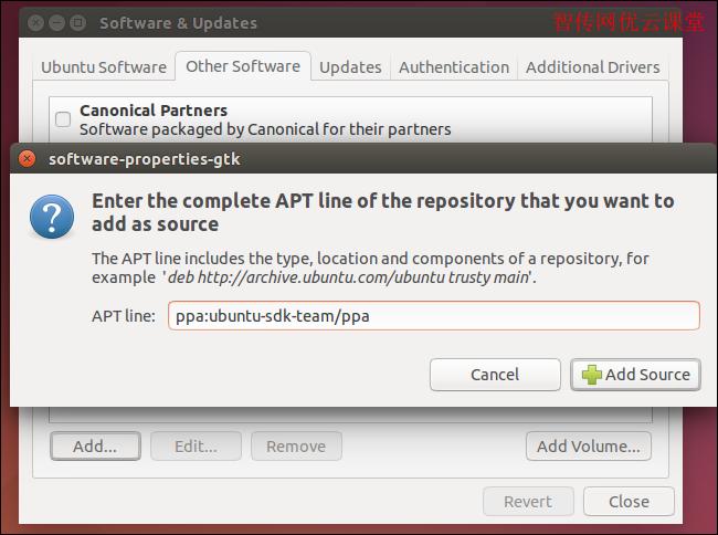 ubuntu通过添加PPA源仓库分发和下载应用