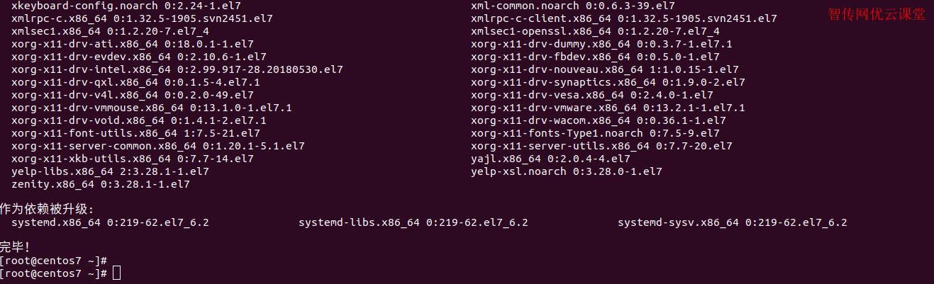 CentOS7成功安装GNOME桌面