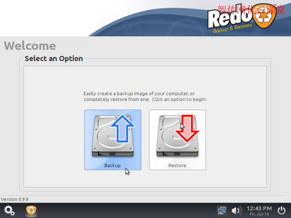 使用Redo backup and recovery备份和恢复数据