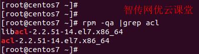 查看linux acl工具包