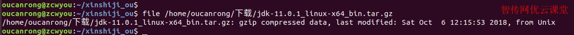 file命令查看压缩文件类型