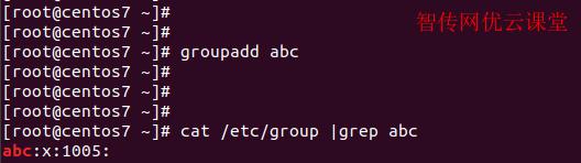 linux如何添加用户组
