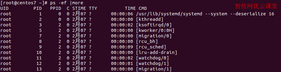 Linux使用more优化打印输出