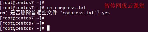 Linux使用rm直接删除文件