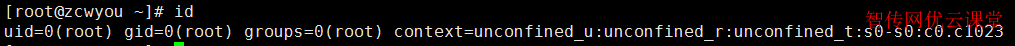 Linux查看当前用户