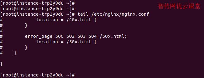 Linux tail命令查看文本内容默认输出