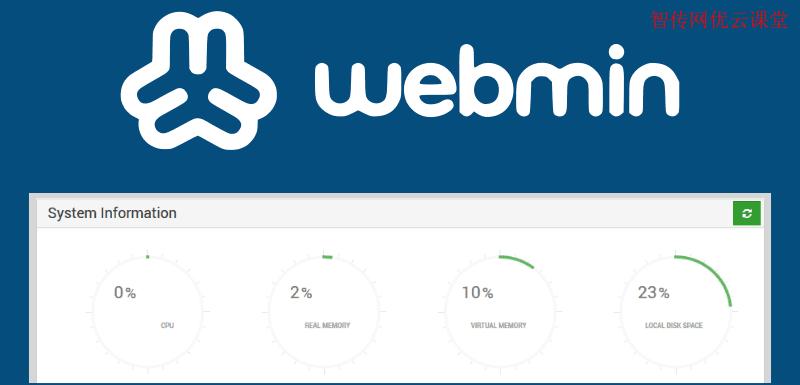 Webmin是一个基于web的Linux系统控制面板