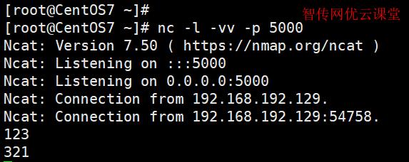 创建一个命令行聊天服务器