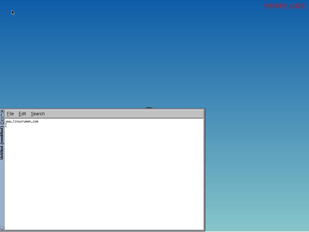 Tiny Core Linux默认文本编辑器