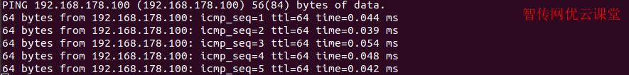 ubuntu测试新IP地址连通性